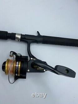Vintage Penn 4400ss 4400 SS Spinning Reel With Zebco 1645TK-GWD2 Rod