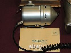 Vintage Unique Miller Electric Retrieve Spincast Reel, Works, Zebco Components