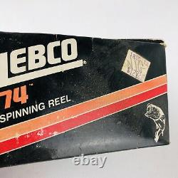Vintage ZEBCO 74 Spinning Reel NOS NEW IN BOX