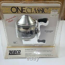 Vintage ZEBCO ONE CLASSIC Feather Touch Fishing Reel NEW SEALED 1986