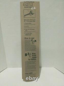 Vintage Zebco 1988 Mickey Mouse Fishing Pole Reel-Rod And Line-New