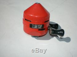 Vintage Zebco 404 Style Red Reel! Rare & Complete! Original Made In USA