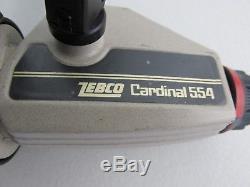 Vintage Zebco 554 Cardinal Spinning Reel FULLY TESTED & WORKS GREAT SWEDEN Made