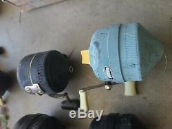 Vintage Zebco 808, 888, 800, 700 hoss, 89 Metal Foot! Made in USA Reel Lot