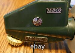 Vintage Zebco Abu Cardinal 6 WithLine Made in Sweden NEAR FLAWLESS CONDITION