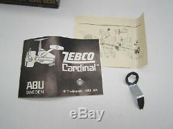 Vintage Zebco Cardinal 3 Abu Fishing Spinning Reel 770800 NEW in box