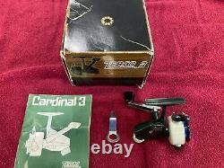 Vintage Zebco Cardinal 3 Never Fished NIB