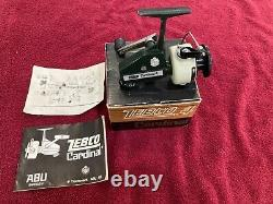 Vintage Zebco Cardinal 4, New In Box. Mint