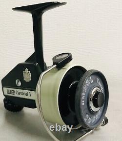 Vintage Zebco Cardinal 4 Spinning Reel. Made In Sweden In 1980. #800901