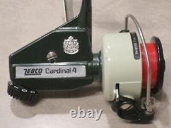 Vintage Zebco Cardinal 4 Sweden, Excellent Condition, 810401