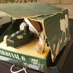 Vintage Zebco Cardinal 6 Fishing Reel in Box