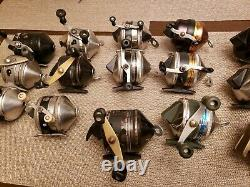 Vintage Zebco Fishing Reel Lot 15 Reels