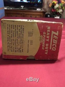 Vintage Zebco Heavy Duty Model 55 Spinner Fishing Reel