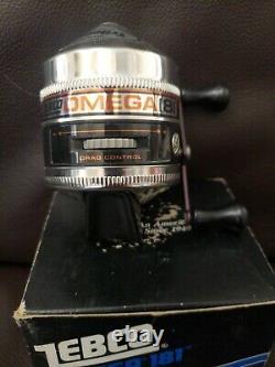 Vintage Zebco Omega 181 Spincast Reel NIB Mint Made In USA