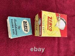 Vintage Zebco Zero Hour. With Black Spinner