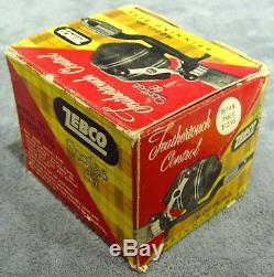 Vintage1959Zebco Scottee 66Spin Cast ReelIncludes Box & ManualVery RareUSA