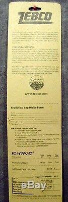 Vintage1998Brand New on CardZebcoRed RhinoRod & Reel ComboUSASuper Rare