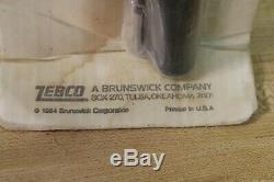 Vtg 1984 Zebco 58 Rod & Reel Combo VPP58 NOS