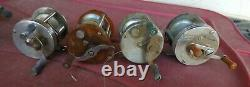 WINCHESTER ARMAX 2498 LANGLEY PFLUEGER SUMMIT 1993 FISHING REELS for part/repair