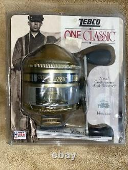 ZEBCO ONE CLASSIC super silver thread USA fihaing Real New Sealed in package