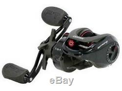 Zebco 21-35339 Black/Red Quantum Smoke S3 11BB 5.1 Baitcasting Fishing Reel