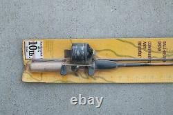 Zebco 33 Classic Combo Fishing Reel Made in USA Vtg 1999