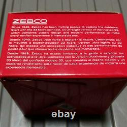 Zebco 33 MICRO with box Spinning Reel N5888