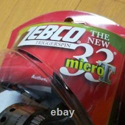 Zebco 33 Micro trigger spin cast reel Spinning Reel N3340