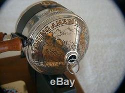 Zebco 50th Limited Edition 33 Gold inlaid reel #16, still in Factory Sealed box
