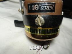 Zebco 601 super rare reel good condition