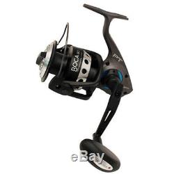 Zebco BSP80PTSEBX2 Boca Saltwater 4.91 Gear 5BB Sz80 Spinning Fishing Reel