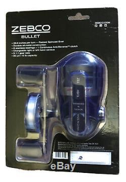Zebco Bullet Spincast Reel Super Fast Retrieve 29.6 Inches per turn ZB3 Zebco