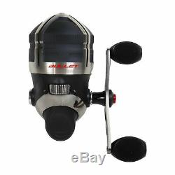 Zebco Bullet Spincast Reel with Reel Cover, Adjusts for Left or Right Hand