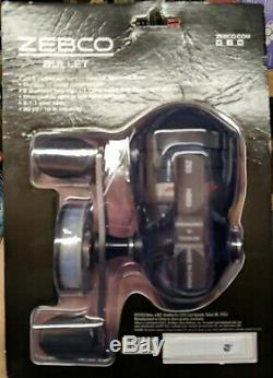 Zebco Bullet Spincast Reel with Reel Cover Adjusts for Left or Right Hand New! CR
