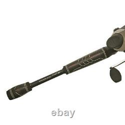 Zebco Bullet Spincasting Rod and Reel Fishing Combo, 6'6 MD