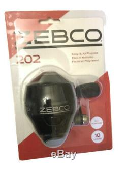 Zebco Bullet Super Fast And Zebco 202 Lot of Two New Spin casters Reels NIB
