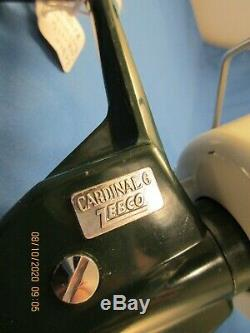 Zebco Cardinal 6 Product of Sweden #117108 open face salt water spinning reel