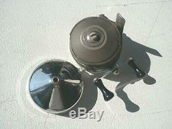 Zebco Chrome 22 reel in super rare flip top box extremely nice see photo's