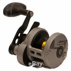 Zebco LTL16 Fin-Nor Lethal Lever Drag 16SZ LD Trolling 6 Bearing Fishing Reel