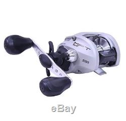 Zebco MO301HPT, BX3 Monster 300 Baitcast Reel 7.11 Gear Ratio LH