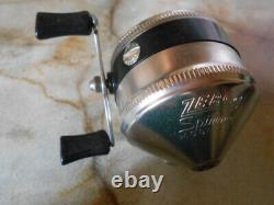 Zebco Model 33 Vintage with box and instructions Spinning Reel N3484
