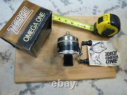 Zebco Omega ONE fishing reel made in USA (lot#16816)