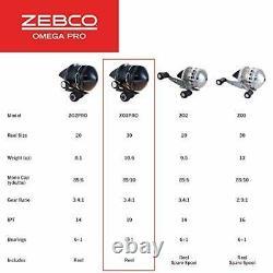 Zebco Omega Pro Spincast