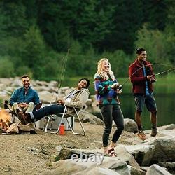 Zebco Omega Pro Spincast Fishing Reel, 7 Bearings (6 + Clutch), Instant Anti-Rev
