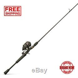 Zebco Omega Pro Spincast Fishing Rod and Reel Combo 6'6 Durable All-metal Reel