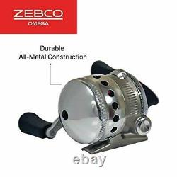 Zebco Omega Spincast Reel and Fishing Rod Combo Natural Cork Rod Handle Insta