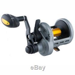 Zebco Quantum LTL30II BX2 Lethal 2-Speed LD Trolling Reel 6.21/3.01 Fishing