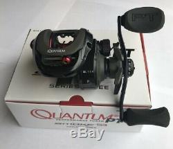 Zebco Quantum Reel Baitcast Smoke S3 PT Left Hand 8.11 SM101XPT