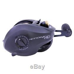 Zebco / Quantum Shd201hpt, Bx2 Smoke Heavy Duty 200 Lh 7.31 Bc Reel