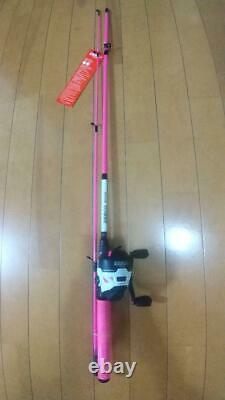 Zebco ROAM white/pink Reel & rodset 246g Spinning Reel N3336
